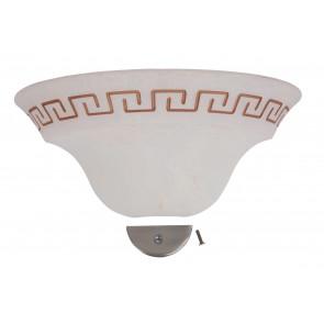 3003004307141 - Vetro per Applique Anticato con Greca