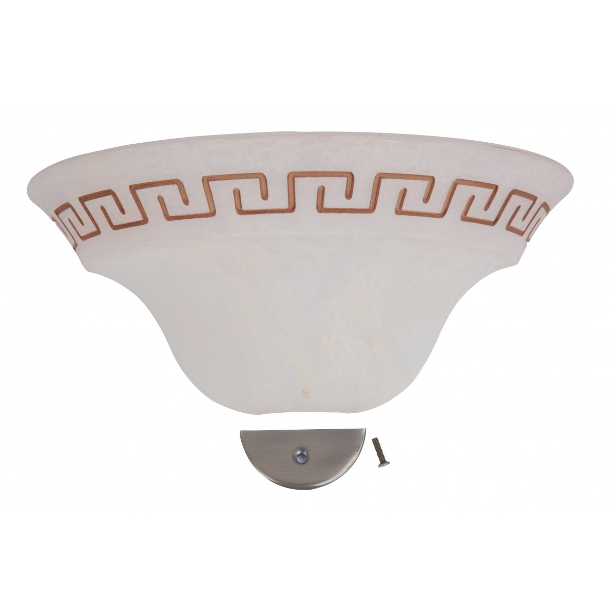 3003004307141 - Verre d'applique antique avec Greca