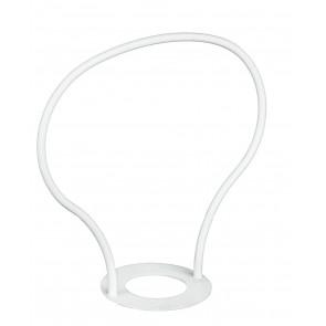 CP0000001 - Poignée blanche pour suspension haut et bas E27
