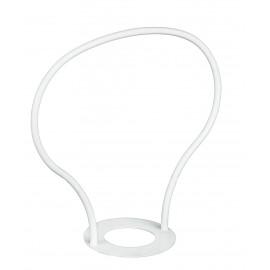 CP0000001 - Manico Bianco per Sospensione Saliscendi E27