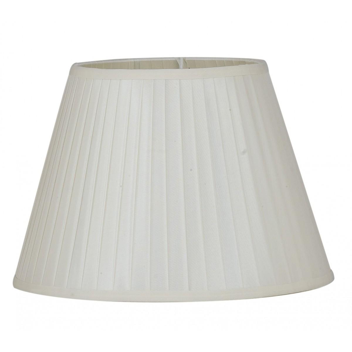 I-PRLM-ORTENSIA-L - Abat-jour Ortensia White Fabric 28x20 cm