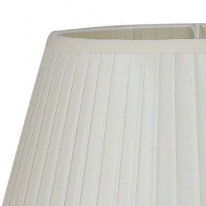 Abat-jour Tissu Blanc 28x20 cm