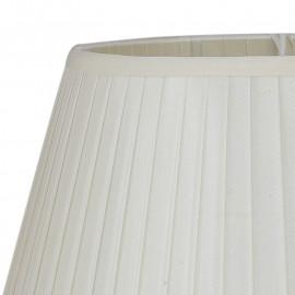 Abat-jour en tissu blanc pour Lume Ortensia FanEurope