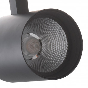 Spot sur rail noir LED A + 3000kelvin...