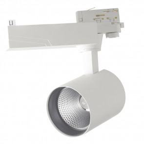 LED-EAGLE-W-10WM Spot sur rail blanc...