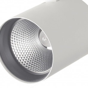 LED-EAGLE-W-20WM Spot sur rail blanc...