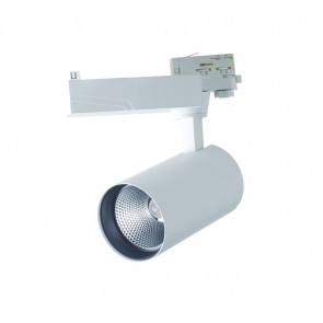 LED-EAGLE-W-40WM Spot sur rail blanc...