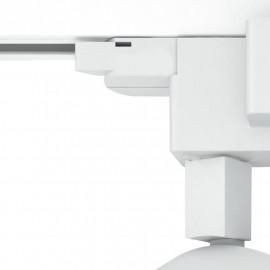 Projecteur pour rail blanc et lumière