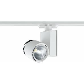 LED-TRAIN-33W - Spot pour rail et lumière LED de couleur blanche 33 watt 3000 kelvin