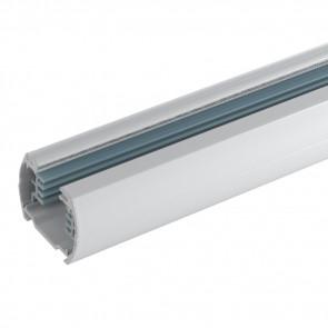 LED-TRACK-1M-INC Rail blanc