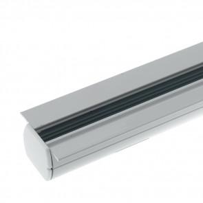 LED-TRACK-2M-INC Rail blanc