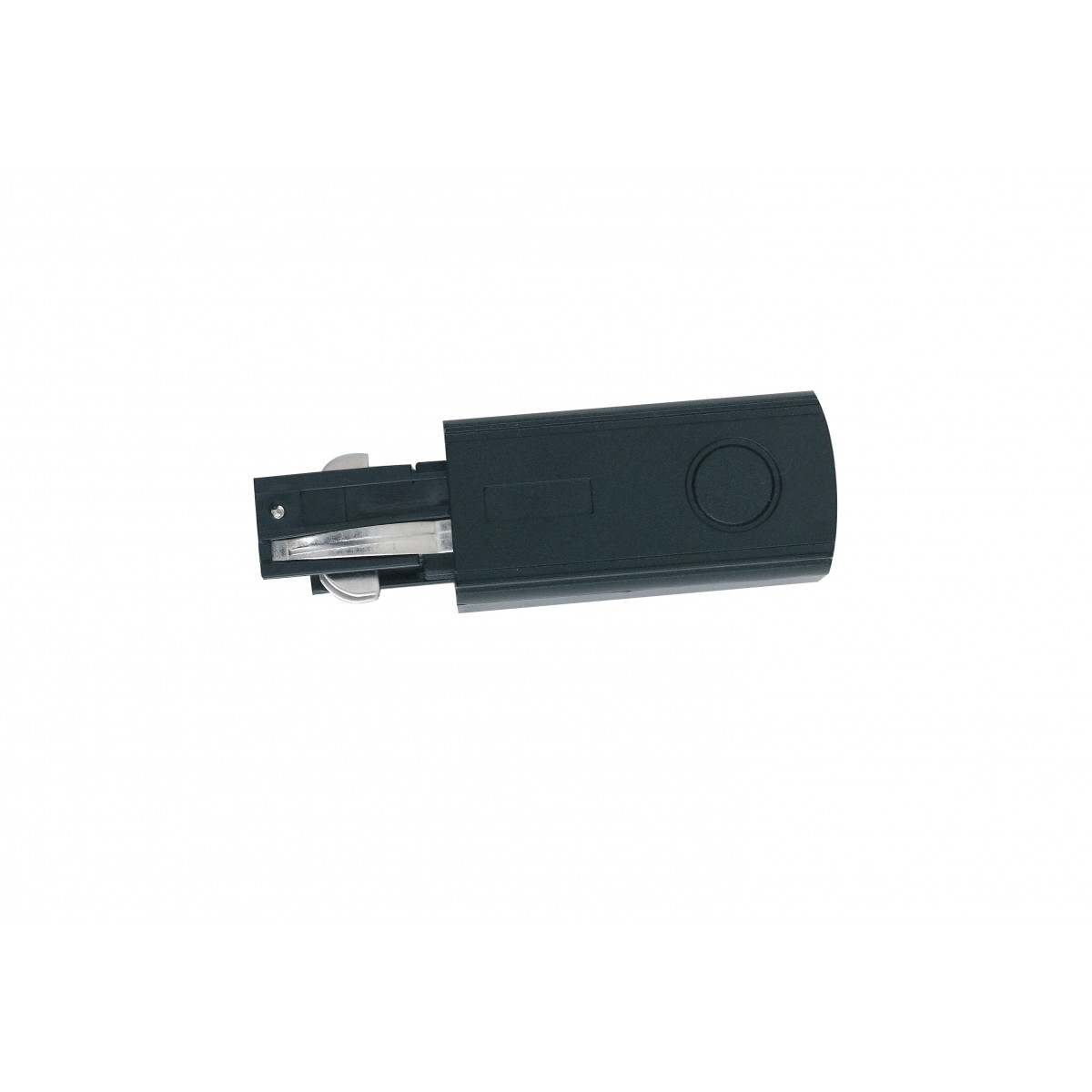 Connecteur noir pour rails de guidage et