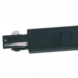 LED-TRACK-I NERO - Connettore per binari
