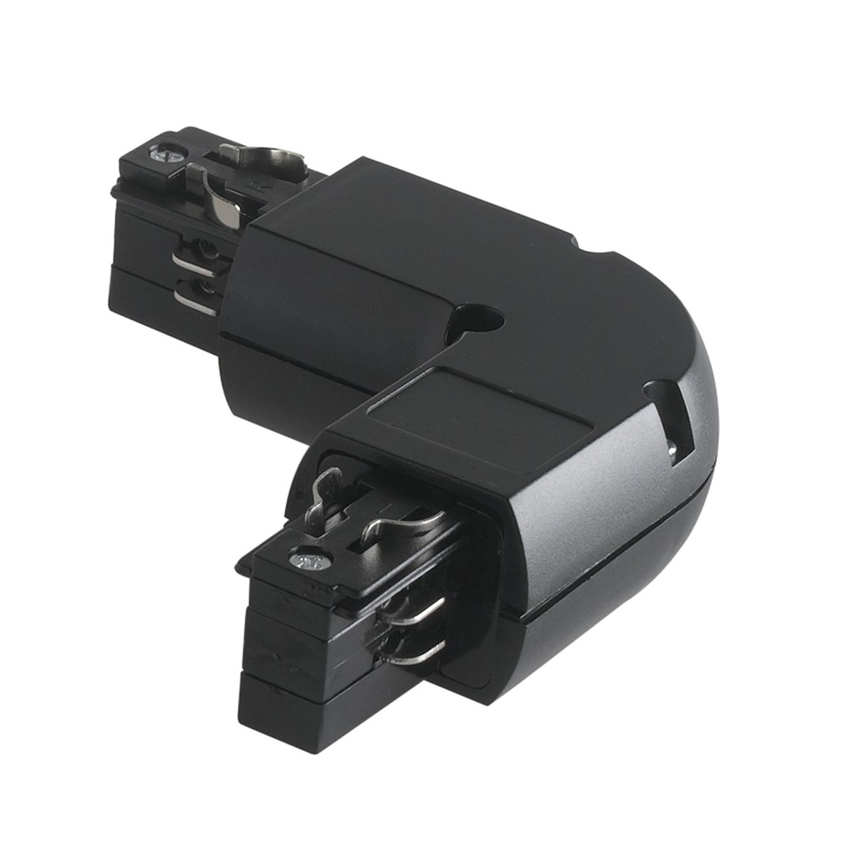 LED-TRACK-L BLACK - Connecteur en forme
