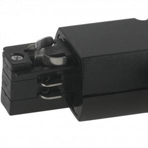 LED-TRACK-T NERO - Connettore per binari