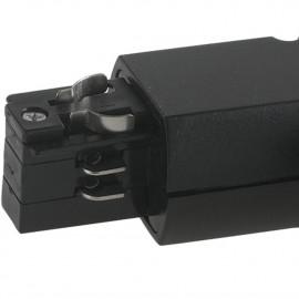 Connecteur de rail de guidage noir en