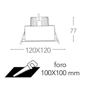 INC-APOLLO-1X10C - Incasso Quadrato...