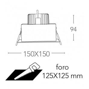 INC-APOLLO-1X20C - Faretto...