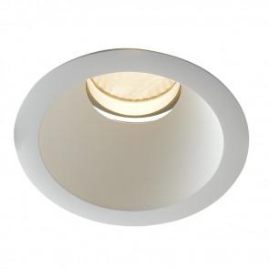 INC-ELITE-1X10C - Spot encastré en placoplâtre d'aluminium blanc à lumière chaude de 10 watts
