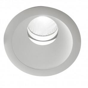INC-ELITE-1X20M - Spot rond blanc encastré faux plafond Led 20 watts lumière naturelle
