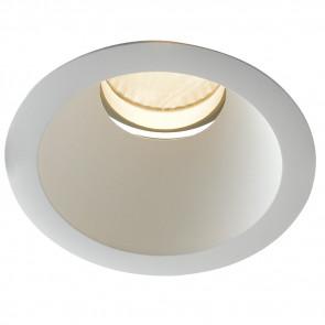 INC-ELITE-1X30C - Spot encastré rond en placoplâtre blanc avec lumière chaude de 30 watts