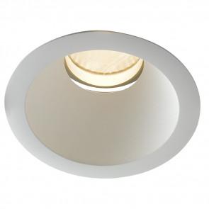 INC-ELITE-1X45C - Spot encastré au plafond rond blanc avec lumière chaude de 45 watts
