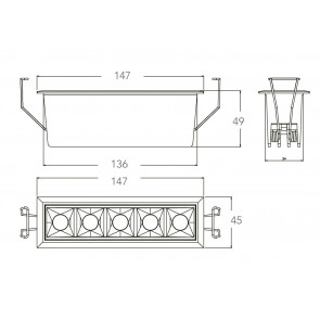 INC-SINKRO-10M - Faretti Modulo a...