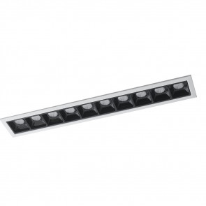 INC-SINKRO-20M - Plafonnier encastré Downlights Module Low White Glossy Black Led 20 watt 4000 kelvin