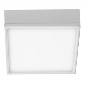 Plafonnier en aluminium blanc de...