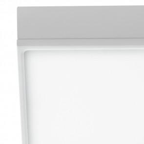 Plafoniera Alluminio Bianco Goffrato...