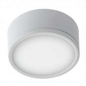 Plafonnier Rond Aluminium Blanc Led...