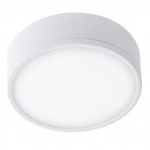L'aluminium rond blanc de plafonnier...