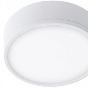 LED-KLIO-R17 - Plafonnier Rond Blanc...