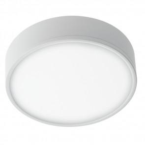 Plafoniera Bianco Goffrato Alluminio...
