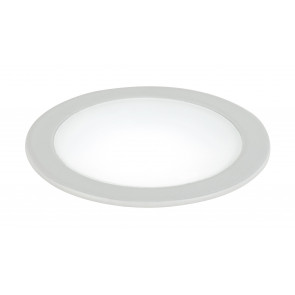 INC-FUSION-5W BCO - Incasso Soffitto Ribassato Faretto Bianco Tondo Alluminio Led 5 watt Luce Naturale