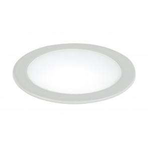 INC-FUSION-5W BCO - Plafonnier encastré bas blanc Spotlight rond Aluminium Led 5 watts lumière naturelle