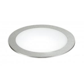 INC-FUSION-5W NIK - Nikel Spot rond en aluminium encastré faux plafond 5 watts lumière naturelle