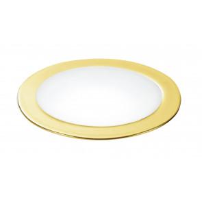 INC-FUSION-5W GOLD - Spot encastré rond en placoplâtre en aluminium doré à lumière naturelle de 5 watts