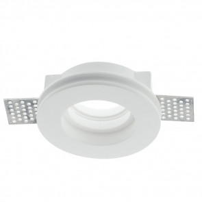 INC-SPIRIT-R1 - Spotlight Round Paintable Plaster Recessed Plasterboard GU10