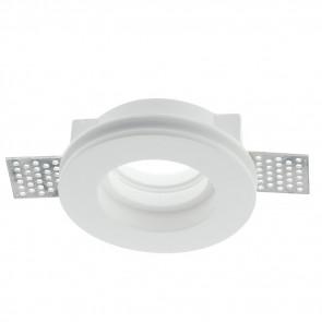 INC-SPIRIT-R1 - Spotlight Round Paintable Plaster Recessed Plasterboard GU10