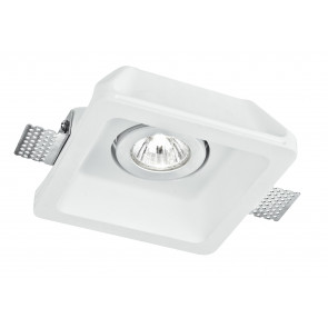 INC-MORGANA-Q1 - Spot encastrable Downlight Faux plafond Spot orientable Carré Enduit à peindre GU10