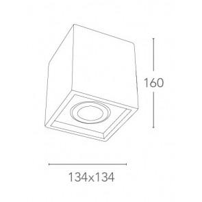 Projecteur cubique ajustable Gesso...