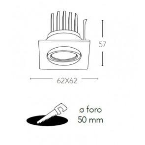 INC-POLARIS-Q3 BCO - Faretto Quadrato...