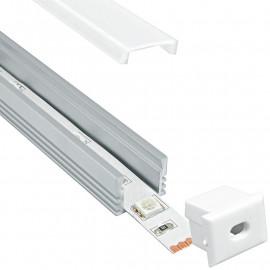 Profil pour Led Strip Rome Aluminium 1 m FanEurope