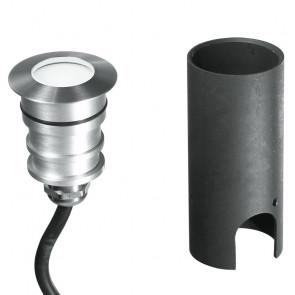LED-IMPACT-R-1W - Faretto tondo per esterno led calpestabile