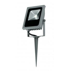 Proiettore con picchetto luce led per...