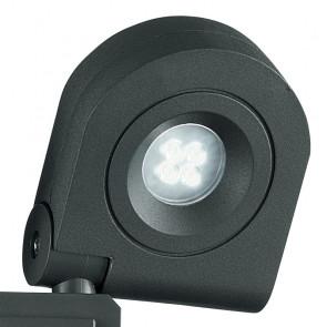 Proiettore con sensore a due luci led