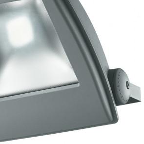 Projecteur de lumière LED argenté...