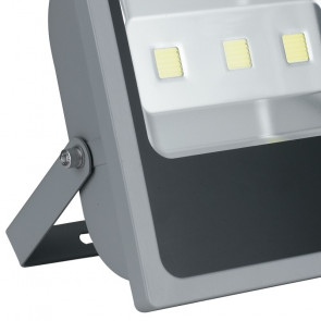 Projecteur de lumière LED argent étanche