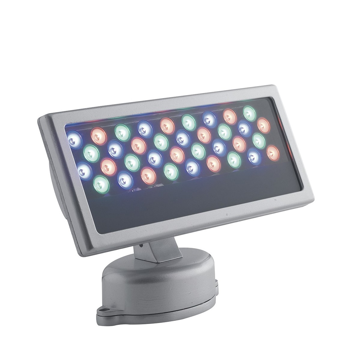 LED-RAYS-36P Proiettore Cromo Led